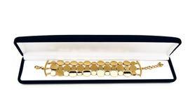 χρυσός βραχιολιών Στοκ φωτογραφία με δικαίωμα ελεύθερης χρήσης