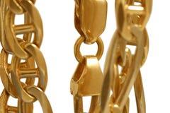 χρυσός βραχιολιών Στοκ Φωτογραφίες