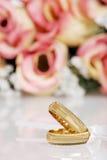 χρυσός γάμος ζωνών Στοκ Εικόνα