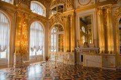 Χρυσός, γυαλί και καθρέφτες στοκ φωτογραφία