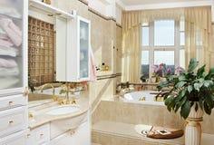 χρυσός εσωτερικός ρομαν Στοκ Φωτογραφίες