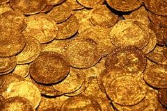χρυσός θησαυρός Στοκ εικόνα με δικαίωμα ελεύθερης χρήσης