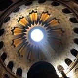 χρυσός θόλος στην Ιερουσαλήμ Στοκ Φωτογραφία