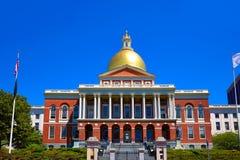 Χρυσός θόλος της Βοστώνης Μασαχουσέτη Βουλή στοκ εικόνες με δικαίωμα ελεύθερης χρήσης