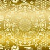 χρυσός ιαπωνικός σύγχρον&omic Στοκ φωτογραφία με δικαίωμα ελεύθερης χρήσης
