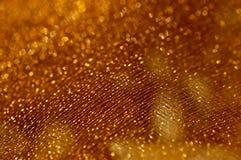 χρυσός καθαρός ανασκόπησ&e Στοκ Φωτογραφία