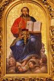 Χρυσός καθεδρικός ναός Κίεβο Ουκρανία του Ιησού Icon Basilica Saint Michael Στοκ Εικόνες