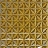 Χρυσός καθρεφτών υποβάθρου Στοκ Φωτογραφία