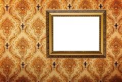 χρυσός καλυμμένος εικόν&alph Στοκ εικόνες με δικαίωμα ελεύθερης χρήσης