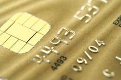 χρυσός καρτών Στοκ εικόνες με δικαίωμα ελεύθερης χρήσης