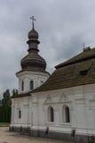 Χρυσός-καλυμμένο δια θόλου το s μοναστήρι του ST Michael ` στο Κίεβο Στοκ Εικόνες