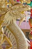 Χρυσός κινεζικός δράκος Στοκ εικόνες με δικαίωμα ελεύθερης χρήσης