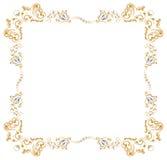 χρυσός κλάδων συνόρων Στοκ Εικόνες