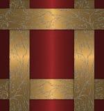 χρυσός κόκκινος τρύγος Στοκ φωτογραφίες με δικαίωμα ελεύθερης χρήσης