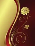 χρυσός λουλουδιών ελεύθερη απεικόνιση δικαιώματος
