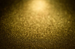 Χρυσός μαγικός λαμπρός ακτινοβολεί διακοσμητική σύσταση, μεταλλικός κατασκευασμένος Στοκ Φωτογραφίες