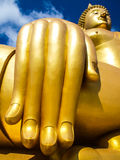 χρυσός μεγάλος του Βούδ Στοκ Εικόνες