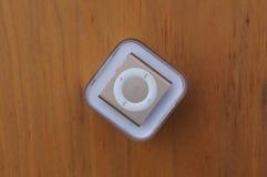 Χρυσός μετάθεσης της Apple iPod Στοκ εικόνες με δικαίωμα ελεύθερης χρήσης