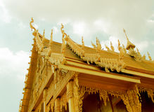 Χρυσός ναός, ο χρυσός ναός Στοκ εικόνα με δικαίωμα ελεύθερης χρήσης