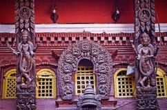 Χρυσός ναός σε Patan, πόλη Lalitpur, Νεπάλ Στοκ Εικόνες