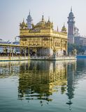 Χρυσός ναός, σιχ Gudwara σε Amritsar, Ινδία στοκ φωτογραφία με δικαίωμα ελεύθερης χρήσης