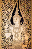 χρυσός ναός Ταϊλάνδη της Μπα Στοκ Εικόνα