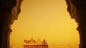 χρυσός ναός της Ινδίας απόθεμα βίντεο