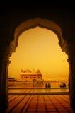 χρυσός ναός της Ινδίας Στοκ Εικόνες