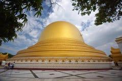 Χρυσός ναός του Mandalay στη Βιρμανία, Ασία Στοκ Φωτογραφίες