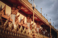 χρυσός ναός Στοκ Φωτογραφία