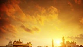 Χρυσός ναός Amritsar Ινδία φιλμ μικρού μήκους