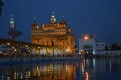 Χρυσός ναός - Amritsar Στοκ φωτογραφία με δικαίωμα ελεύθερης χρήσης