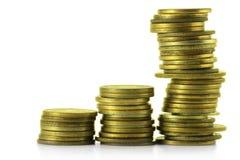 χρυσός νομισμάτων Στοκ εικόνες με δικαίωμα ελεύθερης χρήσης