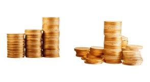 χρυσός νομισμάτων Στοκ Εικόνα