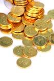 χρυσός νομισμάτων Στοκ Εικόνες