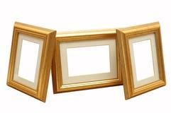 χρυσός πλαισίων Στοκ Φωτογραφία