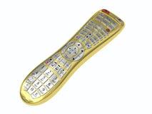 Χρυσός πολλών χρήσεων τηλεχειρισμός Στοκ Φωτογραφία