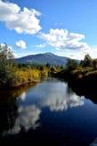 Χρυσός ποταμός Στοκ Φωτογραφία