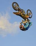 Χρυσός ποδηλάτων ρύπου Στοκ εικόνα με δικαίωμα ελεύθερης χρήσης