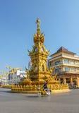Χρυσός πύργος ρολογιών Rai's Chiang Στοκ Εικόνα