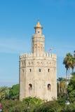Χρυσός πύργος Σεβίλη Ισπανία Στοκ εικόνες με δικαίωμα ελεύθερης χρήσης