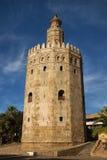 χρυσός πύργος της Σεβίλη&sig Στοκ Εικόνες