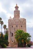 χρυσός πύργος της Σεβίλη&sig Στοκ εικόνα με δικαίωμα ελεύθερης χρήσης