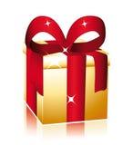 χρυσός συμπαθητικός δώρω&nu απεικόνιση αποθεμάτων