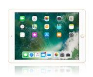 Χρυσός της Apple iPad Στοκ Φωτογραφίες