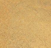 χρυσός τοίχος κεραμιδιών Στοκ Εικόνα