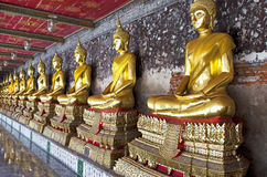 χρυσός του Βούδα Στοκ Εικόνα