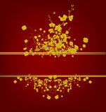 χρυσός τρύγος σχεδίου Στοκ εικόνα με δικαίωμα ελεύθερης χρήσης