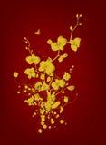 χρυσός τρύγος σχεδίου Στοκ Εικόνες
