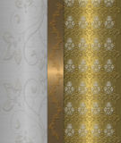 χρυσός τρύγος χάλυβα τε&lambda Στοκ Φωτογραφίες